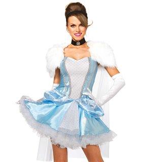 Leg Avenue Slipper-less Cinderella Sexy Kostüm - Halloween und Karneval