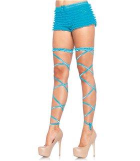 Leg Avenue Garter Leg Wrap Set sexy Strümpfe