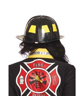 Leg Avenue Black Fireman Hat sexy Accessories