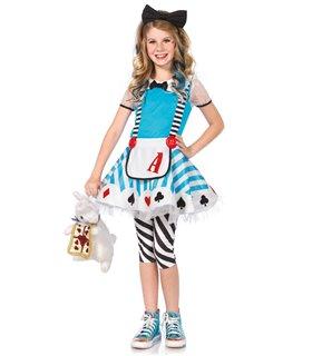 Leg Avenue Kids Alice in Wonderland Sexy Kostüm - Halloween und Karneval