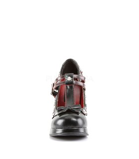 Gothic Pumps CRYPTO-06 - Schwarz