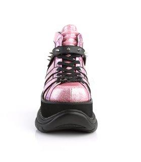 Demonia Plateau Stiefeletten NEPTUNE-100 Pink