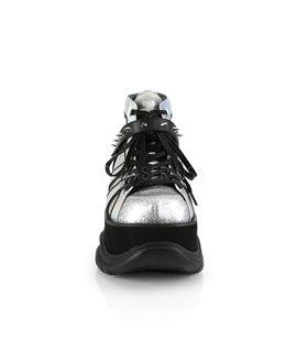 Plateau Schuhe NEPTUNE-100 - Silber