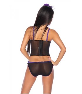 Sexy Dessous-Set mit Spitze Unterwäsche - Dessous