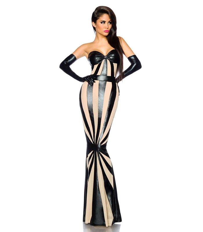 2019 echt hohe Qualitätsgarantie besser Sexy Wetlook-Kleid von Saresia - Kleider - Dresses