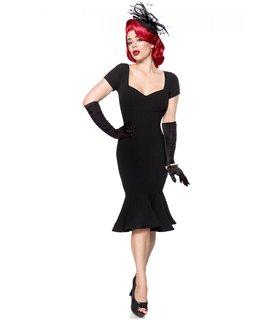 Belsira Retro Kleid schwarz - midi Kleider