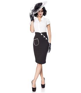 Belsira Bleistiftrock schwarz - Röcke