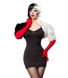 Mask Paradise Kostümset Cruel Lady  schwarz/weiß
