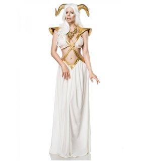 Mask Paradise Kostümset Golden Fairy  weiß/gold