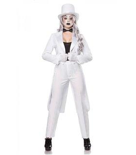 Mask Paradise Komplettset Pantomime  weiß/schwarz