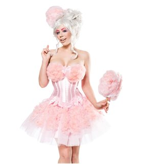 Mask Paradise Cotton Candy Girl rosa - Sonstiges