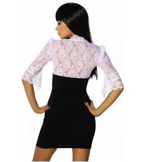Sexy Minikleid mit Spitze - Kleider - Dresses