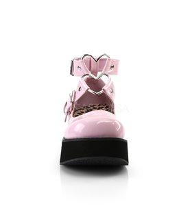 Demonia Halbschuhe SPRITE-02 Pink