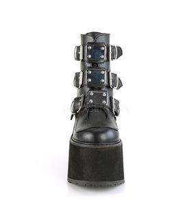 Demonia Plateau Stiefeletten SWING-105 schwarz