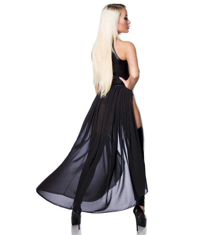 Saresia Wetlook-Set schwarz - Sets mit Body