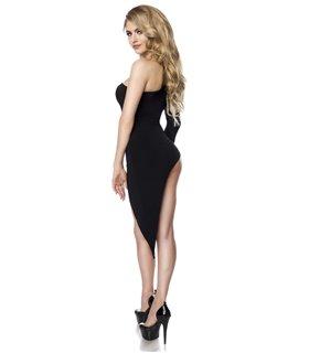 Saresia Gogo-Kleid schwarz - kurze Kleider