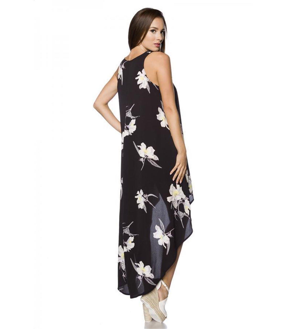 Hipstylers Kleid weiss/schwarz - lange Kleider online ...