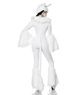 Mask Paradise Komplettset White Unicorn  weiß