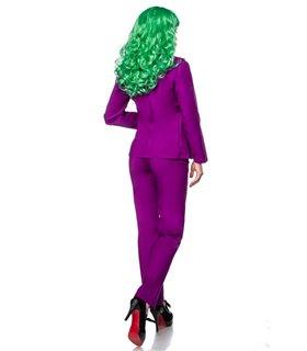 Mask Paradise Kostümset Lady Joker  grün/gelb/lila