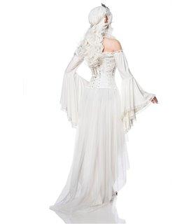 Mask Paradise Kostümset Elf Queen weiß
