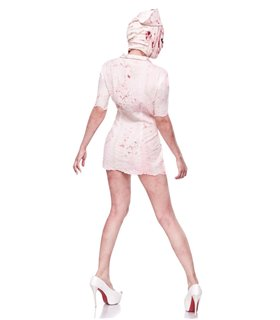 Mask Paradise Silent Nurse weiss - Zombies