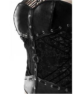 Grey Velvet Corsage mit Slip von Grey Velvet schwarz