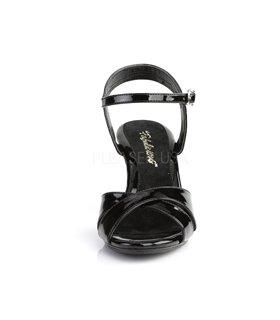Sandalette BELLE-315 - Lack Schwarz