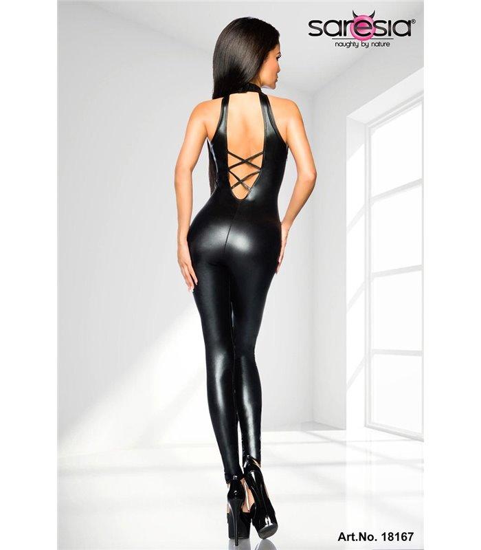 Sexy Wetlook-Overall von Saresia  kaufen