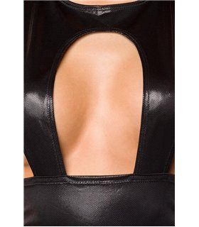SARESIA Minikleid schwarz