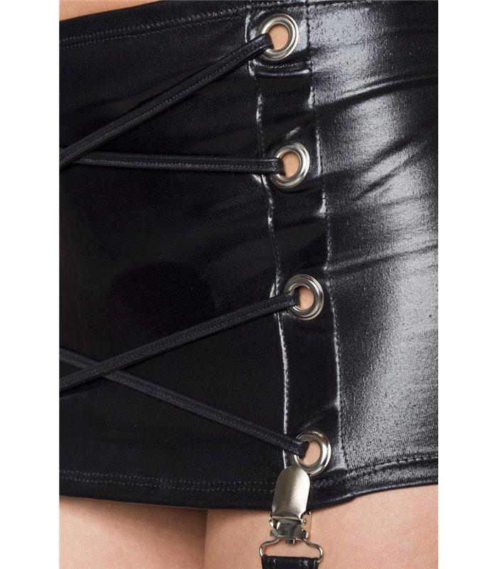 Saresia Wetlook-Set schwarz - Sets mit Hose