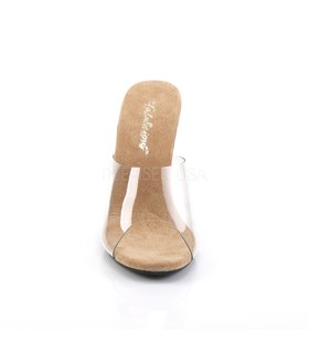 Pantolette CARESS-401 - Klar/Tan