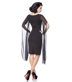 Belsira Retro Kleid schwarz - Dessous