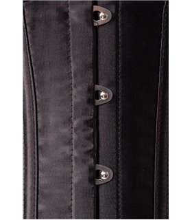 Belsira Lingerie 4-teiliges Straps-Corsagen-Set von Belsira schwarz - Dessous