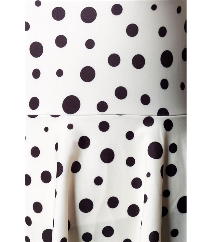 Belsira Vintage Swimdress schwarz/weiss - Monokinis & Badeanzüge
