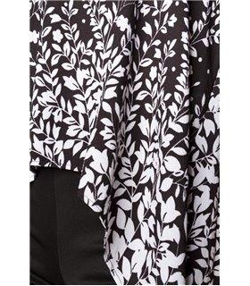 Hipstylers Top mit Schleppe schwarz - Tops & Shirts