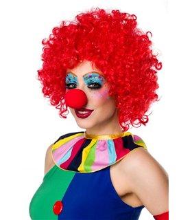 Sexy Clown Girl Komplettset Karneval Halloween
