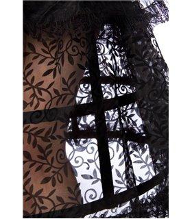 Mask Paradise Komplettset Gothic Queen  schwarz