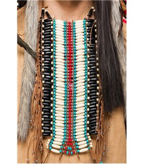 Mask Paradise Indianerkostüm: Native American Herren beige - Indianer & Cowboys