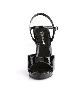 Sandalette FLAIR-409 - Lack Schwarz