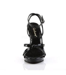 Sandalette FLAIR-436 - Lack Schwarz