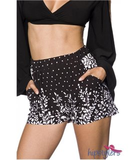 Hipstylers Shorts schwarz/pink - Hosen & Leggings