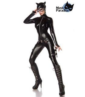 Mask Paradise Komplettset Catwoman Fighter  schwarz
