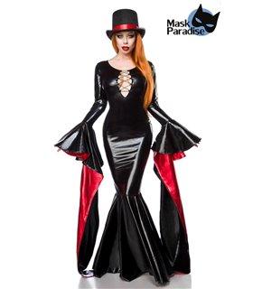 Mask Paradise Komplettset Magic Mistress  schwarz/rot