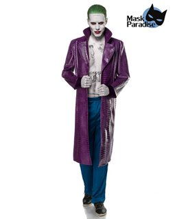 Mask Paradise Suicide Gangster blau/lila - Cosplay