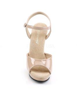Sandalette LIP-109 - Lack Nude