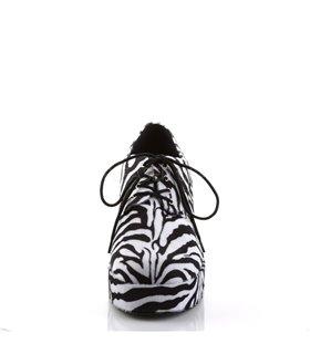 Herren Plateauschuhe JAZZ-02 - Zebra