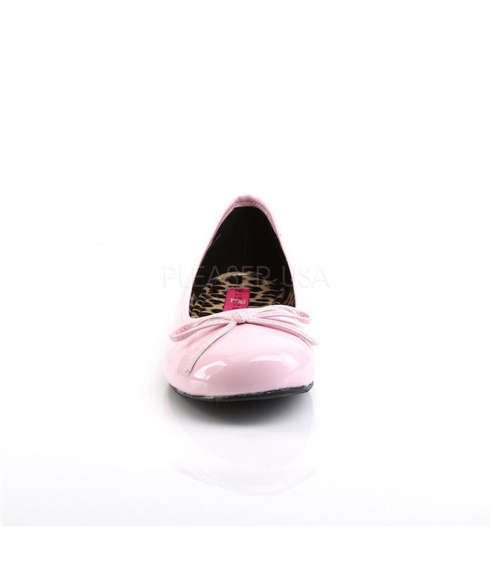 Pleaser Ballerinas Pleaser Pink Label ANNA-01 pink