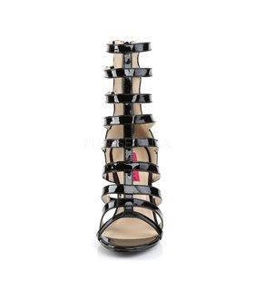 Sandalette DREAM-438 - Lack Schwarz