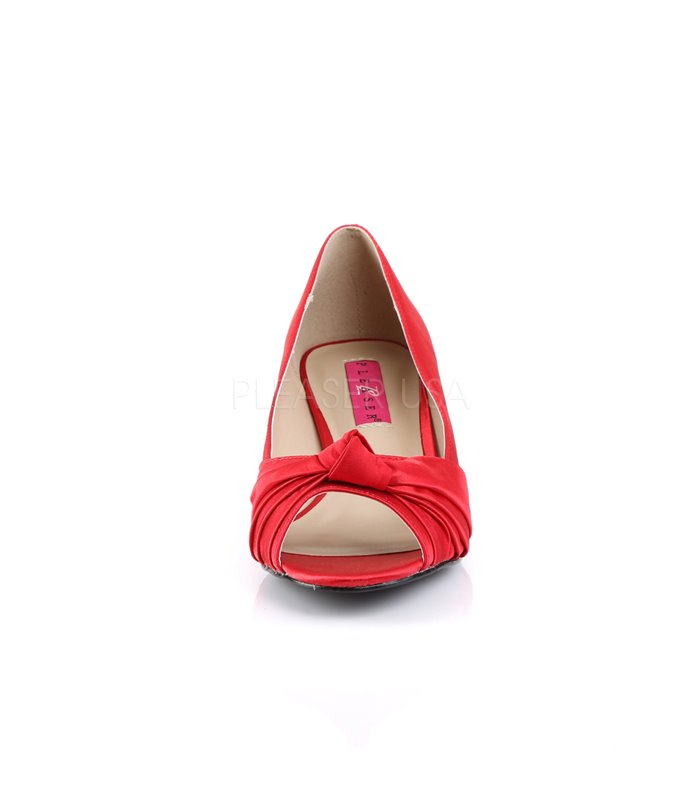 Pleaser Pumps FAB-422 Rot