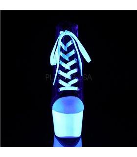 Canvas High Heel Sneakers ADORE-700SK-02 - Schwarz